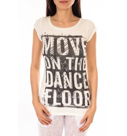 L'Atelier Du Marais T-shirt Atelier du Marais DANCEFLOOR Blanc