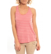 So Charlotte Oversize tank Top Stripe T36-371-00 Rose