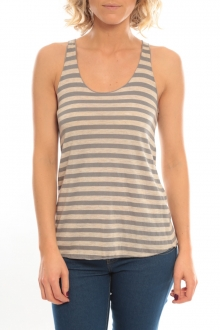 So Charlotte Oversize tank Top Stripe T36-371-00 Gris