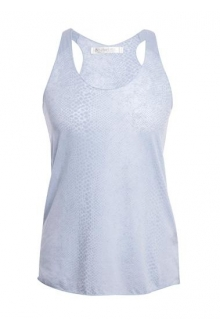 So Charlotte Oversize tank Top Snake Burnout T53-371-00 Gris