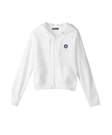 PETIT BATEAU Sweat Zippé 32774 01 Blanc