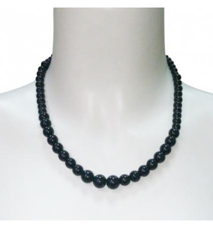LVDLM Collier Boules Noires 203341