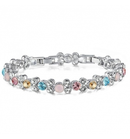 Bracelet en Cristal de Swarovski Elements Multicolor