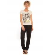 Vero Moda T-Shirt Rome Vlatka S/S EX5 Snow White/W.Safety