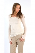 TEE-SHIRT MAS0411 NATUREL