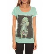 Comme des garçons T-shirt Miss Piu 1239 Blanc
