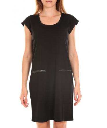 Vero Moda SHORT DRESS CELINA S/L Black