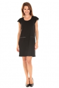 Vero Moda SHORT DRESS CELINA S/L Black