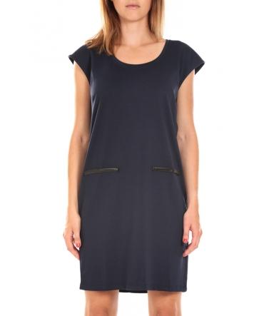 Vero Moda SHORT DRESS CELINA S/L Asphalt