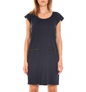 Vero Moda SHORT DRESS CELINA S/L Marine