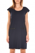 Vero Moda SHORT DRESS CELINA S/L Asphalt