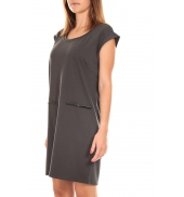 Vero Moda SHORT DRESS CELINA S/L Gris