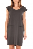 Vero Moda SHORT DRESS CELINA S/L Peacoat