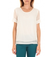Vero Moda Top BLOMMA SS Snow White