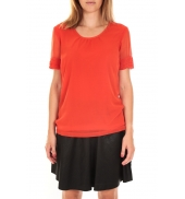 Vero Moda Top BLOMMA SS Poinciana Rouge