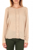 Vero Moda Top LYON LS Doeskin Beige