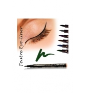 Fashion Make up Feutre eye-liner semi permanent Vert