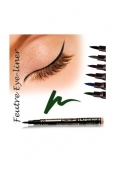Fashion Make up Feutre eye-liner semi permanent Vert
