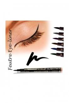 Fashion Make up Feutre eye-liner semi permanent Noir