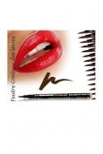 Fashion Make up Feutre contour des lèvres semi-permanent Chocolat