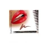 Fashion Make up Feutre contour des lèvres semi-permanent Brun clair