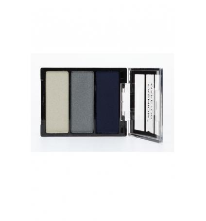 Fashion Make up Ombre à paupières Trio Bleu gris