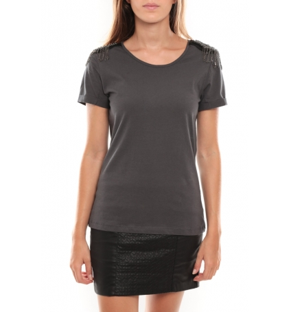 Vero Moda Barut SS Top 96915 Anthracite
