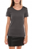 Vero Moda Barut SS Top Anthracite