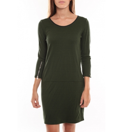Vero Moda Freya 3/4 Short Dress 97250 Vert