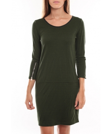 Vero Moda Freya 3/4 Short Dress Vert
