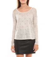 Vero Moda Starly LS Top 98180 Gris clair LOVELY SS TOP PP