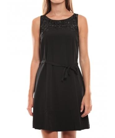 Vero Moda Virgo S/L Robe 97034 Noir