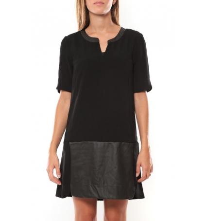 Vero Moda Selma 3/4 Short Dress 97506 Noir