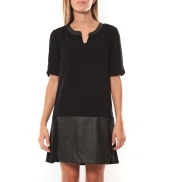 Vero Moda Selma 3/4 Short Dress 97506 Noir