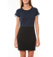 Vero Moda Bora SS Mini Dress 98259 Marine/Noir