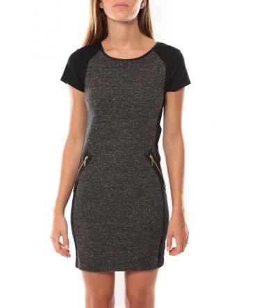 Vero Moda Erin SS Mini Dress Gris