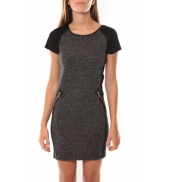 Vero Moda Erin SS Mini Dress 98730 Gris
