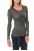 Lulu Castagnette Tee shirt Comme Anthracite