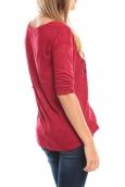 Vero Moda TESSA 3/4 Top 10098264 Rouge