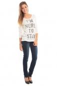 Vero Moda TESSA 3/4 Top 10098264 Blanc