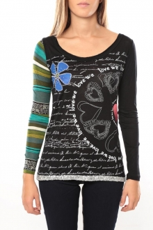 Desigual Tee shirt Jamila 37T2624