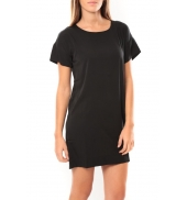 Vero Moda Reba ss mini dress 10100945 Noir/Bleu