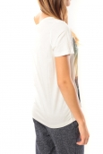 Vero Moda Grafic girl s/s Top Box it 10101116 Blanc