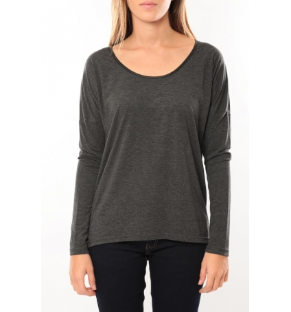 Vero Moda Kisha ls Top 10099844 Anthracite