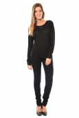 Vero Moda Point l/s Top it 10100690 Noir