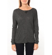 Vero Moda Point l/s Top it 10100690 Anthracite