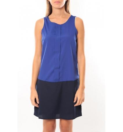 Vero Moda Neje sl Short Dress 10100937 Bleu/Noir