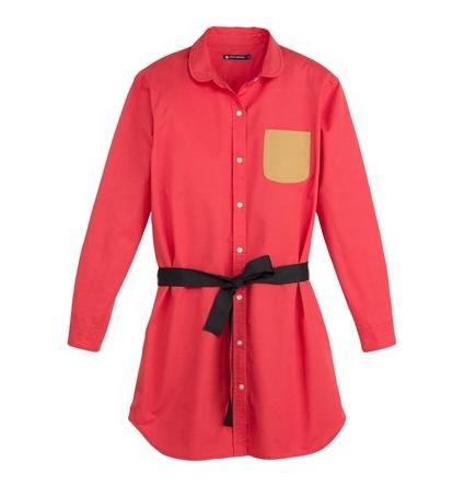 Petit Bateau Robe 3436860220 Rouge
