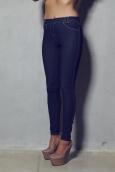 Legz Skin Jean Pant Padova Bleu