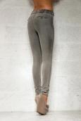 Legz Skin Jean Pant Angelina Gris